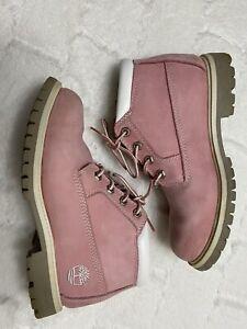 online aquí mayor descuento mejor sitio Timberland Women's Waterproof Pink Nellie Chukka Boots