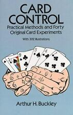 Card Control: Practical Methods and Forty Original Card Experiments (Dover Magic