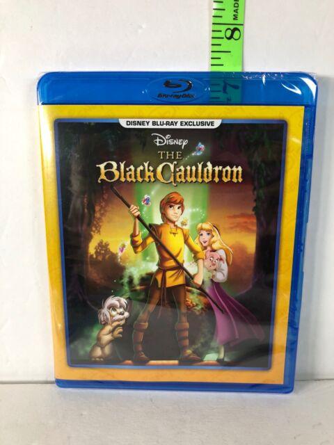 The Black Cauldron Disney Movie Club Exclusive -  Blu-Ray - NEW / SEALED