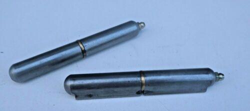 "4-3//4/"" WELD ON BBQ SMOKER Pit Bullet Barrell Lid Hinge Wood Stove GZ"