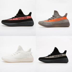 size 40 ba49e 0d6ff Details about Kids Yeezy-Boost 350 V2 Speed Running Sports Outdoor Hiking  Shoes Size5-11