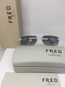 New-Fred-LUNETTES-Sunglasses-Luxury-Rimless-Hawai-F1-Sunglasses-C-118-France