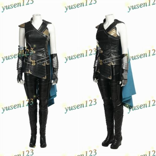 Thor Ragnarök Valkyrie Samantha Halloween Cosplay Costume Fancy Dress Custom Mad