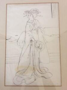 Geisha Art Sketch