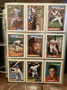 1992-Topps-Complete-Set-1-792-in-Deluxe-Album-Mint-Chipper-Griffey-Nolan-HOF