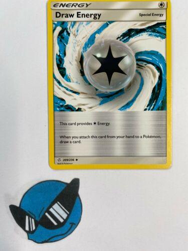 Pokemon TCG Draw Energy 209//236 Cosmic Eclipse
