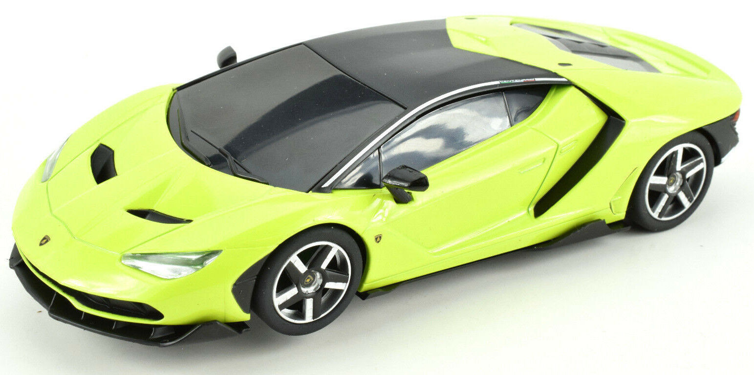Scalextric Lime Green Lamborghini Centenario DPR 1 32 Scale Slot Car C3957