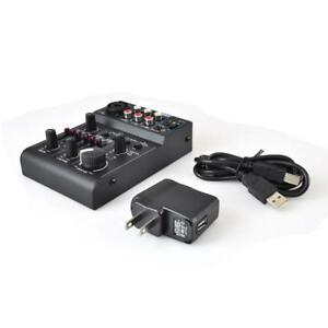 Pyle-PAD30MXUBT-Bluetooth-3-Channel-Mixer-DJ-Controller-Audio-Interface