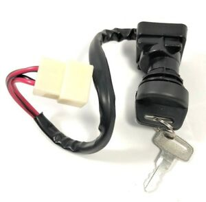 M-Egal Ignition Key Switch Motorcycle Accessory For Polaris Sportsman 500 2000 2001 ATV