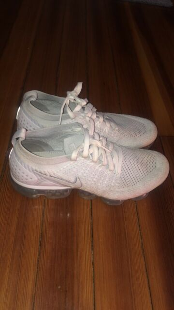 purchase cheap 99cea c9b8f Nike Air Vapormax Flyknit 2 Running Shoes White Vast Grey Size 9.5  942842-105