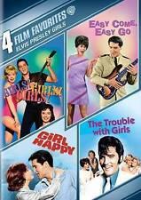 4 Film Favorites:Elvis Presley Girls: Girls! Girls! Girls!/ Easy Come Easy Go/ T