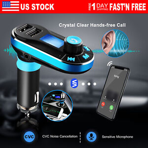 Wireless-In-Car-FM-Transmitter-MP3-Player-Radio-Adapter-Car-Kit-USB-Charger
