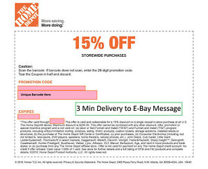 ONE-1x-Home-Depot-15-Off-1coupon-max-saving-200-In-Store-Only