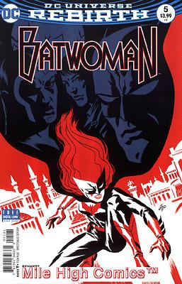 2017 Rebirth DC Comics ~ VF//NM Comic Book BATWOMAN #1 Universe variant