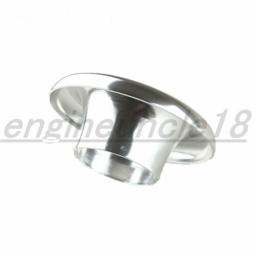 "Universal Velocity Stack 3/"" Ram Air Intake //Turbo Composite Silver Funnel"