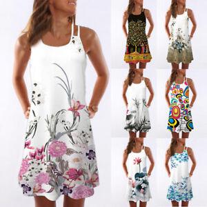 Hot-Womens-Summer-Vintage-Sleeveless-3D-Floral-Print-Bohe-Tank-Short-Mini-Dress