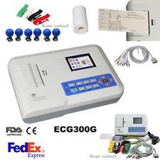 Contec Portable 3 Channel 12 Lead Ecg Machine Electrocardiograph Software