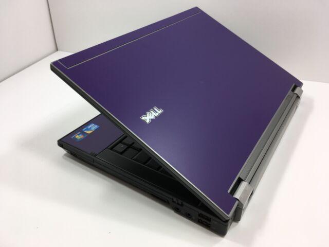 #361 Dell Latitude E6410 i5 4GB 160GB Laptop Notebook Computer Windows 10 Purple