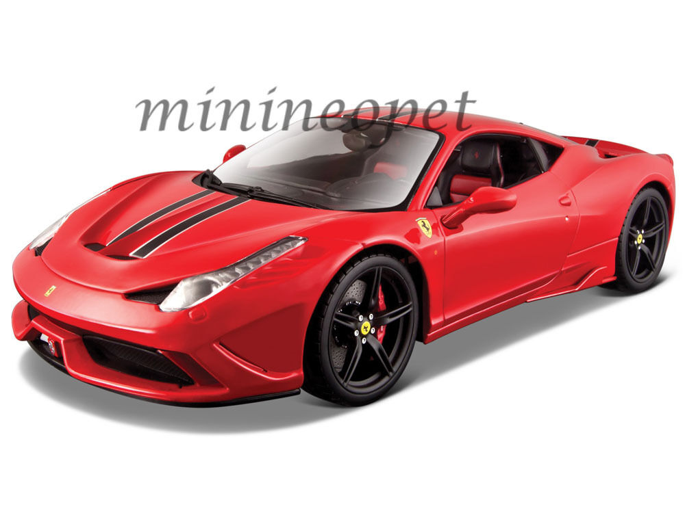 BBURAGO 18-16903 SIGNATURE SERIES FERRARI 458 SPECIAL 1 18 DIECAST MODEL RED
