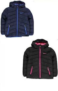 girls black nike coat