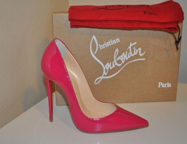 b5de235325d Christian Louboutin so Kate 120 Patent Pump 37 Pink