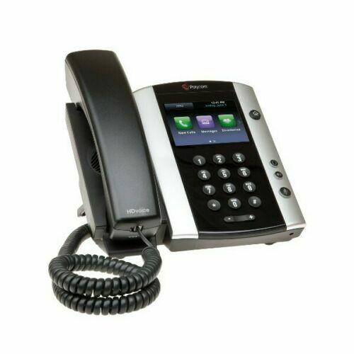 Polycom VVX 500 Gigabit VoIP Business Media Phone 2201-44500-001 (D)