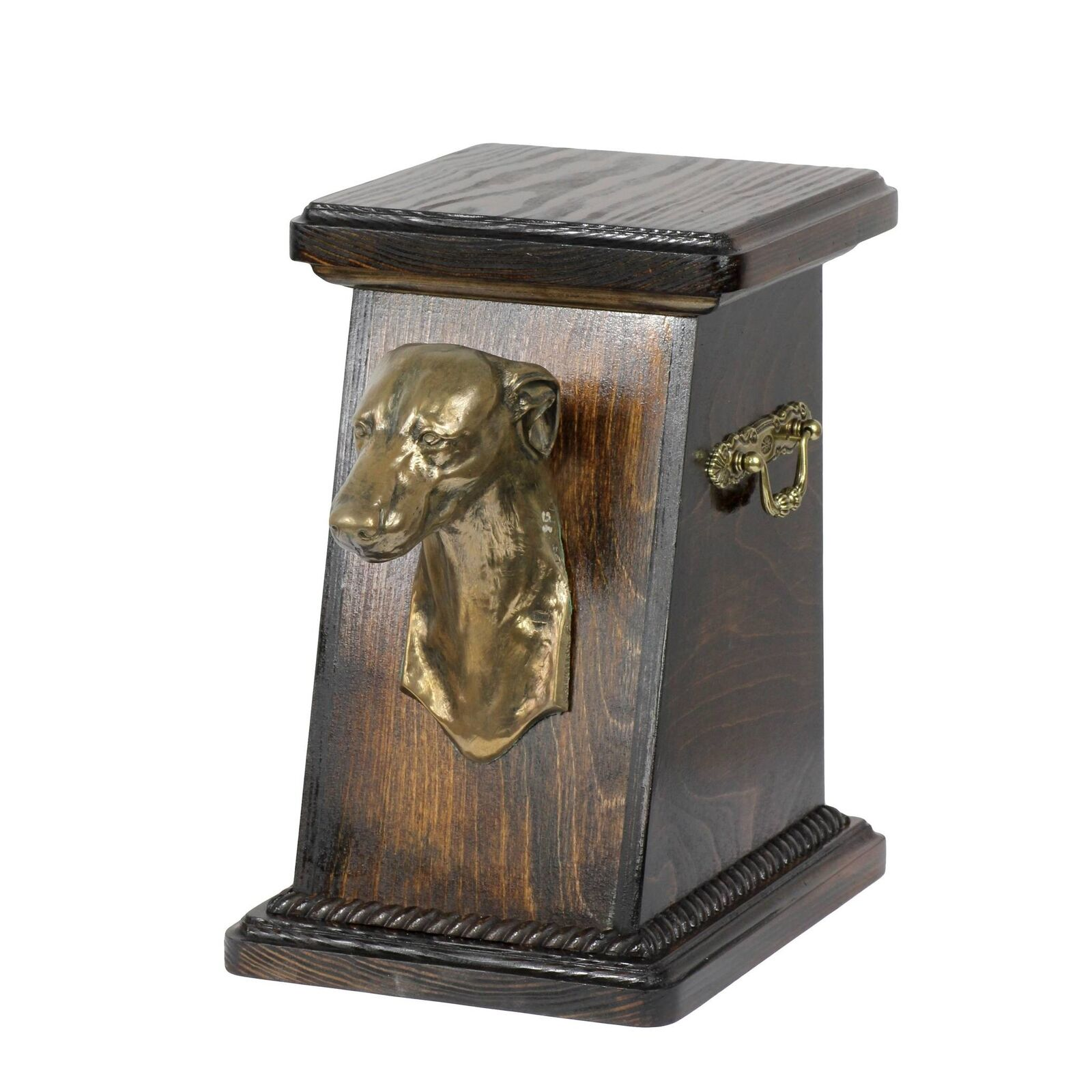 Whippet type 2 - exclusive urn for dog with statue, Art Dog type 2