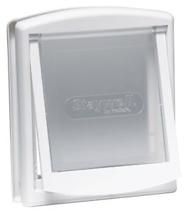 Staywell-715-Small-White-Flap-Door-for-Cats-amp-Small-Dogs