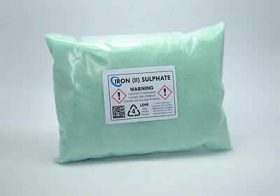 IRON SULPHATE 250g - 99% Technical Grade Ferrous Sulphate