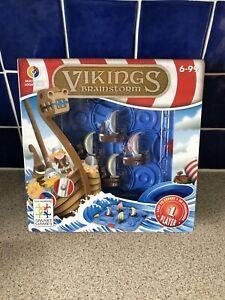 Vikings-Brainstorm-Smart-games-Multi-Niveau-logique-jeu-de-continuer-a-Jouer