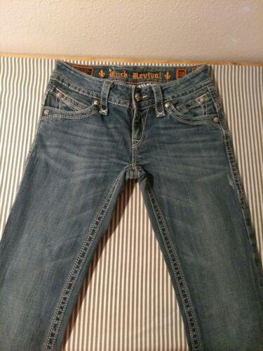 Jeans Gwen Revival Rock Størrelse 28 Bootcut 5tqxxpF