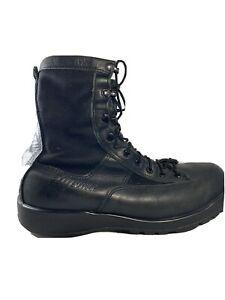 BELLEVILLE MEN'S BLACK LEATHER MILITARY COMBAT BOOTS 700 GORE-TEX SIZE 9 W