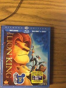 Disney The Lion King Blu Ray Dvd Diamond Edition Ebay