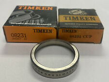 Timken 08231 Tapered Roller Bearing Cup Lot Of 2 Nos
