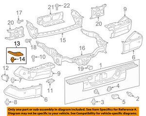 Toyota Tundra Rear Bumper Driver Side Step Pad 52164-0C060