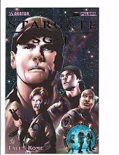 Stargate SG - 1 #1 NM 1st Print Avatar Press Fall Of Rome Pulsar Comic Book J113