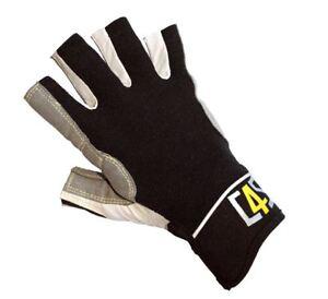Bekleidung C4S Segelhandschuhe 5 Finger geschnitten Segeln Wassersport Bootsport