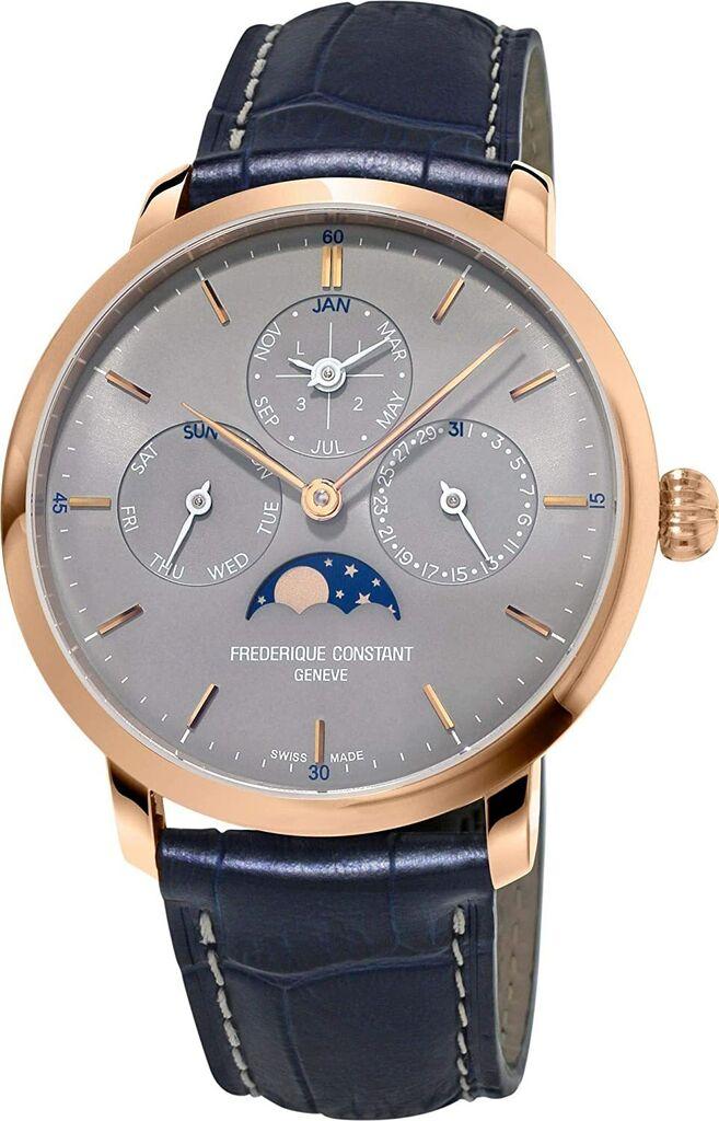 Frederique Constant Automatic Movement Grey Dial Men's Watches FC775G4S4   Ebay