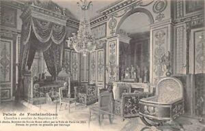 Palacio-de-Fontainebleau-Dormitorio-Napoleon-1er