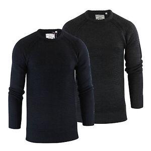 herren-pullover-brave-soul-columbia-weave-strick-rundhals-winterpulli