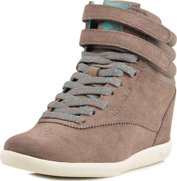 Reebok Classics Freestyle HI INT Hidden Wedge Fashion Grau  Sneaker 6-11