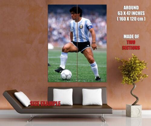 V3538 Diego Maradona Argentina Legend Soccer Football Decor WALL PRINT POSTER AU