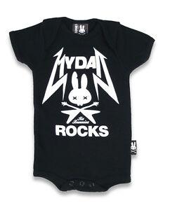 Six-Bunnies-Baby-MY-DAD-ROCKS-Strampler-Tattoo-Biker-Oldschool-Custom-Style