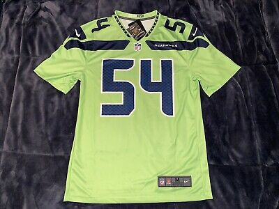 Bobby Wagner Color Rush Legend Neon Green Seahawks Jersey - S,M,L,XL,2XL | eBay