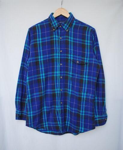 Woolrich Vintage 80's Purple Plaid Flannel Shirt S