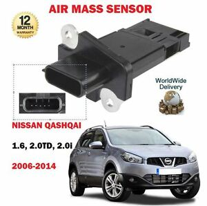 Pour-nissan-qashqai-1-6i-2-0-dci-2-0i-J10-JJ10-2006-2014-nouveau-masse-d-039-air-capteur