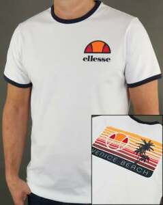 e65b5979d903 Image is loading Ellesse-Venice-Beach-Ringer-T-Shirt-with-back-