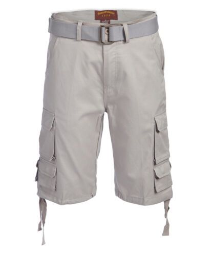 Men/'s Cargo Shorts Distressed Military Cargo Short Tactical 8 multi Pockets
