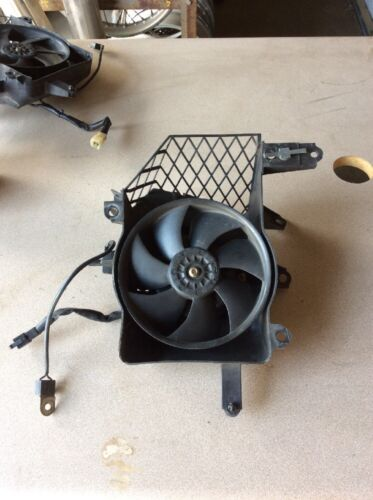 02 HONDA GOLD WING GL1800 GL 1800 LEFT RADIATOR FAN ASSEMBLY OEM 19032MCA003