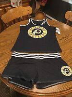 Washington Redskins Nfl Women's Pajama Tank Top & Shorts Sleepwear Set Large